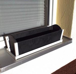 Balkonkasten mit Eckprofil